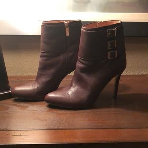 Louise et Cie Brown Buckled Booties, size 9.5